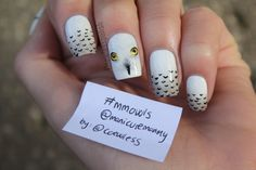 These are great! Inspired by Hedwig, (Snowy Owl from Harry Potter apparently)