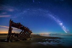 Wreck of the Peter Iredale Astoria, Oregon