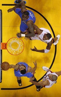 #NBA Miami Heat and  Oklahoma City Thunder