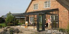 Solarlux - Foldedør - Foldedøren Glas - Foldedøre - Skydedøre - Foldedøre vinduer