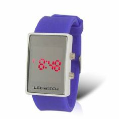 Como Adjustable Band White Dial LED Digital Watch for Ladies by Como. $7.29. Color : Dial Case: White;Band: Lavender : Band: Lavender. Material : Dial Case: Stainless Steel;Band: Silicone : Band: Silicone. Weight : 50g;Package Content : 1 x Lady LED Watch. Fit for Wrist Girth : 17-20cm/6.7''-7.9'';Dial Case Size : 3.9 x 2.7 x 1cm/1.5' x 1.1'' x 0.4'' (L*W*T);Band Size : 19 x 2.2cm/7.5'' x 0.9'' (L*W). Product Name : LED Watch;Fit for : Lady;Display : Hour, Minute, Sec...