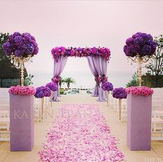 @Karen Tran using radiant orchid the 2014 Pantone color of the year.