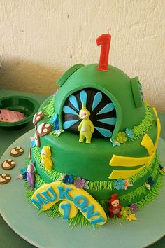"""Teletubbies Cake"" 