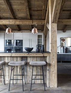 Gorgeous chalet in Mégève France - Rustikale Häuser -