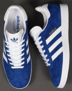 Adidas Gazelle Trainers Royal Blue/White