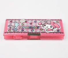 My Melody Double Compact Pencil Case: Check  28