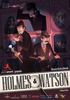 Holmes and Watson by Cowboy-Lucas on DeviantArt