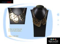 Ya esta disponible este hermoso #Collar #Étnico Solicítalo sin costo de envío #Valledupar  Visita http://www.pinterest.com/compras365/ para conocer mas productos