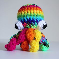 Today's #aprilsbusinessbuilder post is all about my best seller these rainbow octopuses. I recently came up with the design for these back in January. I knew people loved my giant Pulpo sculpture and my rainbow octopus pillow but wanted a more affordable option. That's why I decided to make a mini version and came up with this guy. This little plushy is only $15. He makes a great desk charm stress ball or keychain. Since I first started selling these guys back in January I've sold at least…