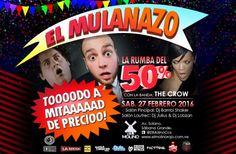 """El Molino presenta: """"El Mulanazo"""" http://crestametalica.com/events/el-molino-presenta-el-mulanazo-2/ vía @crestametalica"""