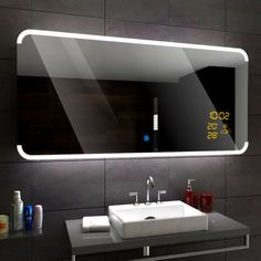 ASSEN-Illuminated-Led-bathroom-mirror-Weather-Station-Switch-Demister