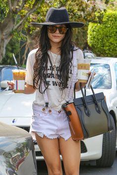celebritiesofcolor:  Vanessa Hudgens out in Beverly Hills
