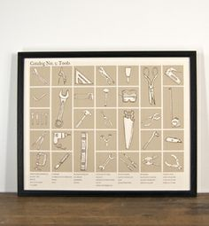 "$35 ""Catalog No. 2 Print - Tools"" by Brainstorm"