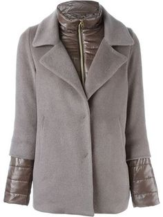 куртка с пуховой вставкой