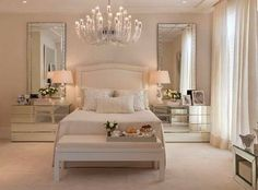 Bedroom Decor Ideas, Home Decor Ideas, bedroom design, Decor Ideas, Luxury… Dream Bedroom, Home Bedroom, Bedroom Decor, Bedroom Ideas, Closet Bedroom, Dream Rooms, Bedroom Yellow, White Bedroom Furniture, Bedroom Inspiration