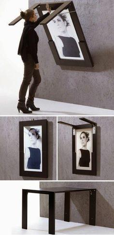 les-meubles-gain-de-place-pour-le-salon-mur-gris-avec-une-peinture-table.jpg 700×1444 pixels