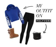 """Untitled #95"" by rubixkube11 on Polyvore featuring Levi's, New Look, UGG and Lancaster"