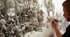Beautifull drawings from Joe Fenton