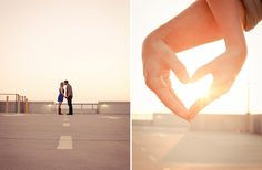 Gorgeous Sunrise Engagement Session in Charleston | Images by Jenna Marie Photography