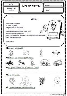 Petits textes pour travailler la lecture et la compréhension en CP - organiser par son