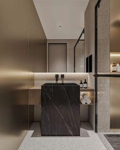 Bathroom Toilets, Bathrooms, Bathroom Design Luxury, Two Bedroom, Mirror, House, Interiors, Furniture, Heart
