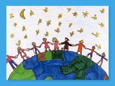 Hands Around the World lesson plan- crayola