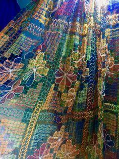 100% handmade Brazilian bedspread. Like it? More info at www.facebook.com/olhodemascate #colcha #toalha de mesa #cortina #bedspread #tablecloath #curtins #rendadebilro #rendafile #crochet #decoração #decoration #weaving #naturalfiber #handmade #tradicionalart