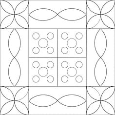 free little buttonsquilt, design by Dorte Rasmussen Denmark