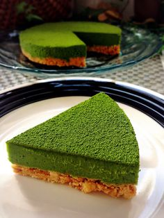 Oven not used * Easy * Rich * Matcha raw chocolate tart * Green Tea Dessert, Matcha Dessert, Matcha Cake, Sweets Recipes, Cooking Recipes, Matcha Tea Benefits, Green Tea Recipes, Snacks, Gastronomia