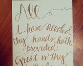 great is thy faithfulness etsy - Google Search