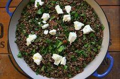 Green Lentils with Kasha Recipe Buckwheat Gluten Free, Buckwheat Recipes, Nut Recipes, Cereal Recipes, Rice Recipes, Salad Recipes, Recipies, Kasha Recipe, French Green Lentils