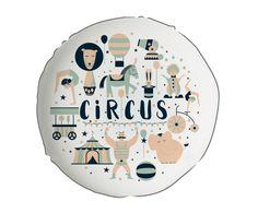 Cojín Circus, multicolor - Ø45 cm