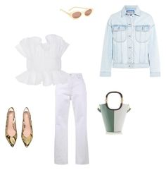 """""""Untitled #153"""" by bronteamelia ❤ liked on Polyvore featuring Balenciaga, Johanna Ortiz, Marni, Acne Studios and Elizabeth and James"""