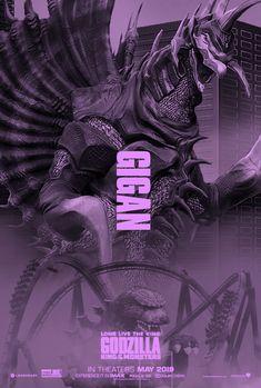 Godzilla King of the Monsters: Gigan, Chief of the Space Chickens Godzilla Vs Gigan, Godzilla Comics, All Godzilla Monsters, Cool Monsters, Animatronic Fnaf, Godzilla Franchise, Rukia Bleach, King Kong Vs Godzilla, Dragons