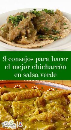 Si has intentado cocinar chicharrón en salsa verde y no te quedan como quisieras, ¡no te preocupes! Aquí te decimos cómo prepararlos.