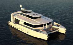 Brilliant Boats Catamaran  #boat #design #render #customdesign