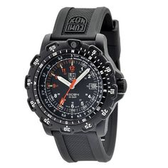 Luminox Men's Recon Pointman Black, Rubber Band, With Multi Color Accents Watch As a supplier of military watches for the U. Navy SEALs and U. Seiko, Black Rubber Bands, Watch Photo, Accent Colors, Color Accents, Online Watch Store, Bar, Casio Watch, Watches For Men