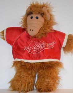 A.L.F. Hand Puppet Orbiters Baseball Shirt 1988 Alien Production Alien Life Form  | eBay