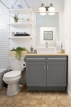 14 Genius Storage Hacks to Add Space to the Smallest of Bathrooms | The Stir