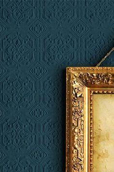 Anaglypta Wallpaper Derby - White - http://centophobe.com/anaglypta-wallpaper-derby-white/ -