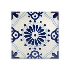 .: Uriarte Talavera : Artesanía Mexicana : Vajillas - Decoración - Azulejos - Murales - Regalos :. Azulejos Art Nouveau, Art Nouveau Tiles, Mexican Style Decor, Mexican Art, Mexican Pattern, Blue Mosaic, Calais, Paint Samples, Wall And Floor Tiles