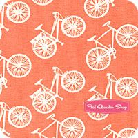 One of my favorite spring colors! - Commute (in Coral) by Jay-Cyn for Birch Organic Fabrics in Nursery Fabric, Fat Quarter Shop, Fabulous Fabrics, Spring Colors, Birch, Quilt Patterns, Jay, Coral, Organic