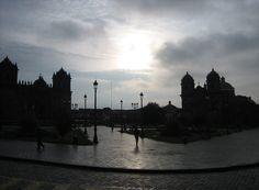 Cusco, Peru.  During early morning walk.