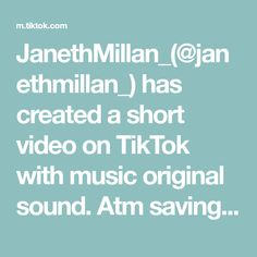 JanethMillan_(@janethmillan_) has created a short video on TikTok with music original sound. Atm savings #WorldPeace #MusicLesson #atm #pinkatm #fyp Tween Gifts, World Peace, Music Lessons, The Originals, Create