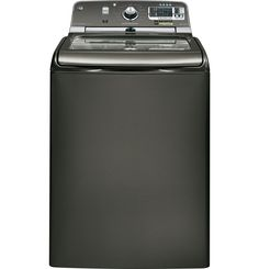 GTWS8655DMC | GE® 5.0 DOE cu. ft. capacity washer with stainless steel basket and steam | GE Appliances