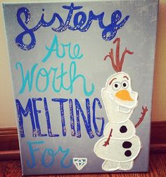 frozen fabulous ☺ someone paint this for me!!