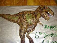 t rex cake -impressive