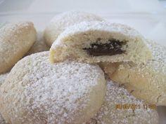 עוגיות חמאה במילוי שוקולד נמסות בפה: תפוז בלוגים