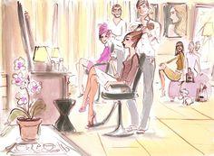 Izak Zenou - hairdresser
