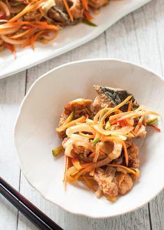 Nanbanzuke (Marinated Fried Fish)